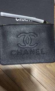Chanel / coach wristlet clutch