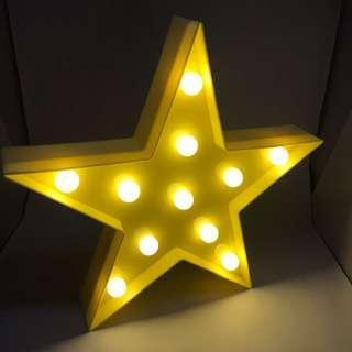 🚚 二手星星桌燈