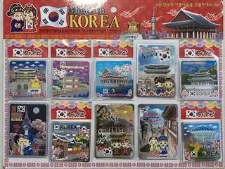 Tempelan kulkas asli dari Korea