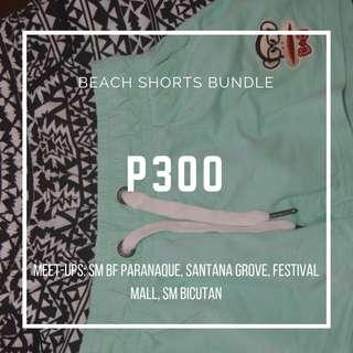 BEACH SHORTS BUNDLE FOR SALE!!