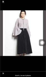 YHF tinder bell sleeve top younghungryfree