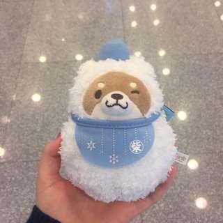 柴犬 冬日限定雪人version