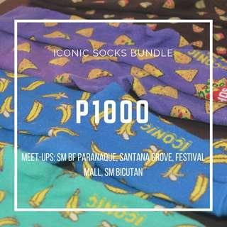 Iconic Socks Bundle