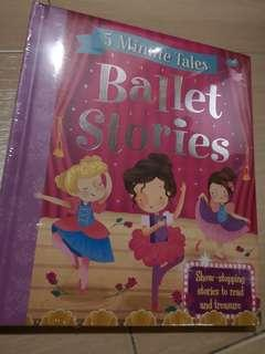New 5 minutes Tales Ballet Stories Hardcover Children story book #NEW99