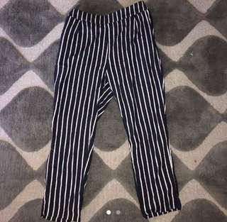 Princess Polly stripe pants size m