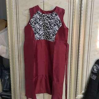 Dress pesta bumil