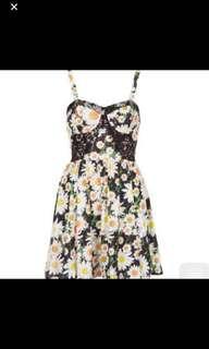 Top shop daisy dress