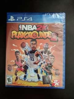 PS4 NBA 2K PLAYGROUNDS 2 (New)