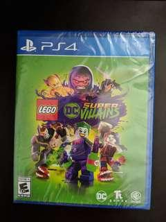 PS4 LEGO DC Super Villains (New)