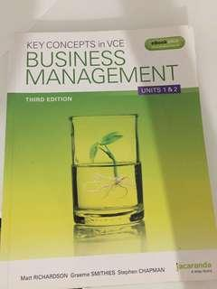 Business management 1/2