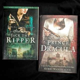 Stalking Jack the Ripper and Hunting Prince Dracula by Kerri Maniscalco