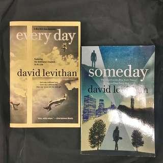 Everyday and Someday (set) by David Levithan