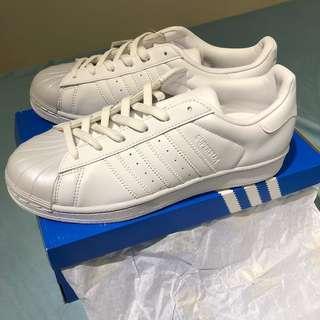 🚚 Adidas superstar 貝殼鞋 愛迪達 正品 小白鞋 布鞋 全新