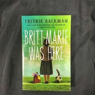 Britt Marie Was Here by Fredrik Backman