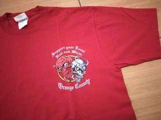 T-Shirt Big Red Machine Motorcycle