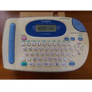 🚚 CASIO 卡西歐 KL-170 PLUS 中英文標籤印字機 標籤機