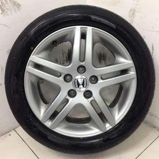 "17"" Sports Rim With Tyres 5X114.3 (SR1540)"