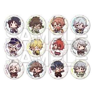 Idolish7 Nikoichi Trading Tin Badge