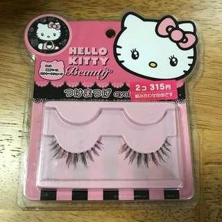 Hello Kitty 假眼睫毛 False Lashes