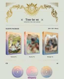 Gfriend 2nd Full Album - ' Time For Us '