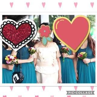 Bride's maid Infinity Dress for rent