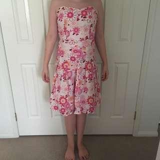 Vintage Sweetheart Midi dress