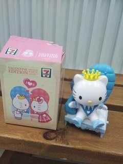 七仔hello party Valentine edition 公仔