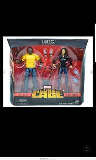 Hasbro Marvel legends 6 inch the defenders luke cage claire temple 2 pack netflix in stock