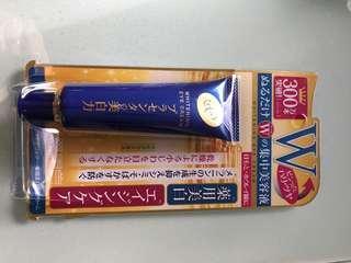 Whitening eye cream