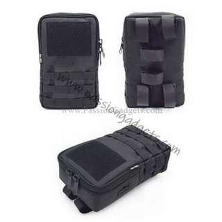 22cm/34cm Velcro Tactical External Battery Bag For Electric Scooter eBike