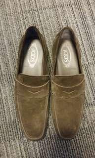 Tod's (Tods) Suede Loafers - Almost new - size 7.5