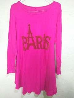 atasan pink paris