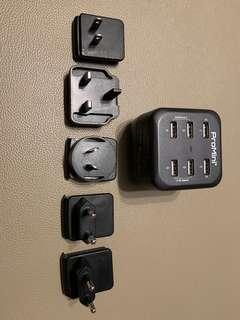 Magic-Pro ProMini Power Station 6T USB旅行充電器