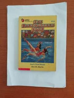 Apple Paperbacks. Scholastic. The Baby-Sitters Club . Jessi's Gold Medal. Children's book. Written by Ann M. Martin.