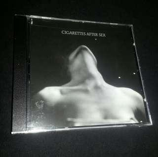 **HARGE TURUN** CD Cigarettes After Sex. 1 EP. 4 tracks. USA Import