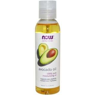 [Ready Stock] Now Foods Solutions 100% Pure Avocado Oil 118 ml