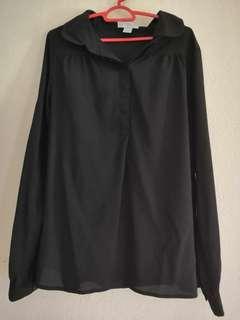 Cotton On Black Blouse #CNY888