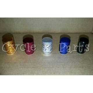 Tire / Tyre Caps for Bicycle, Car, Motorcycle, scooter etc ☆ 1 Std Size fits all ☆ aluminium, durable & decorative!