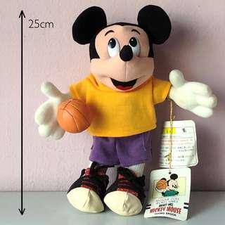 Mickey Mouse Plush Disney Collection Disney Collectibles Mickey Mouse Plushie