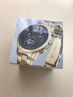 正版全新 MICHAEL KORS ACCESS MKT5045金色 無開封 智能手錶 Runway Gold-Tone Smartwatch