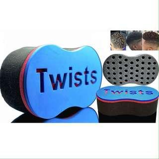 Twists hair groom