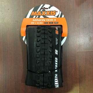 New: Maxxis Minion DHR II 29x2.30 Tyre 3C - EXO - TR