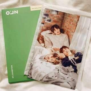 [ONHAND] BTS JAPAN EXHIBITION PHOTO FRAME JUNGKOOK JIMIN RM NAMJOON