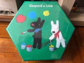 Puzzle 雷諾瓦拼圖 108 pieces - Gaspard eat Lisa 100% 全新未拆封