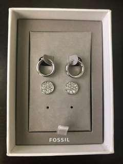 Fossil Earrings