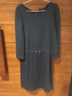 GREEN DRESS MASSIMO DUTTI