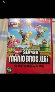 中文版 瑪利歐 多人遊戲 Wii 體感 好玩