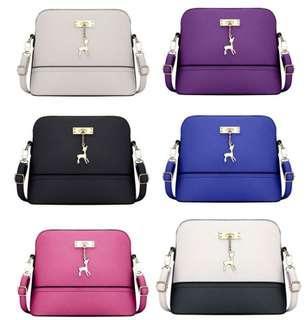 Korean sling bag plain