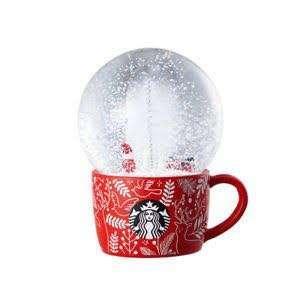 Starbucks Snow Globe Christmas 2018