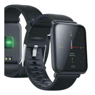 Smart Watch Blood Pressure, Sport 防水智能手錶健康監測運動模式睡眠質量監測來電提示閱讀微信facebook messager, Twitter, QQ信息